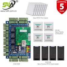 TCP/IP Network Access Controller for 4 door access control system