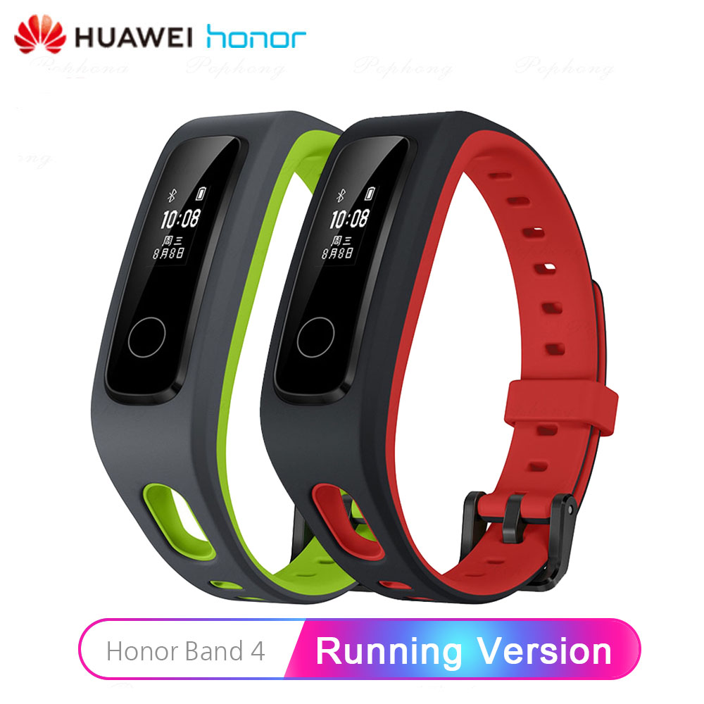 Original Huawei Honor Band 4 Running Smart Bracelet Tracker Smart Swimming Waterproof Bluetooth Fitness Tracker Sleep Monitor