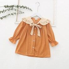 Little Toddler Girl Dresses Long Sleeve Kids Spring 2020 Dresses For Girls For 2 Year 1 3 4 5 6 7 Ag