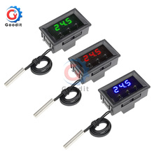 W1209 0.28 inch LED Digital Temperature Controller Thermostat Thermometer Sensor NTC Probe DC 12V for Indoor Outdoor Car w/ Case