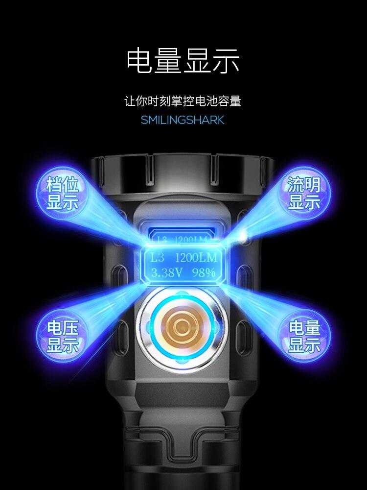 leve luz dura led mini lanterna foco 02