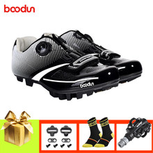 BOODUN men cycling shoes mtb SPD pedals mountain bike sneakers zapatillas ciclismo mtb women breathable non-slip cycling shoes(China)
