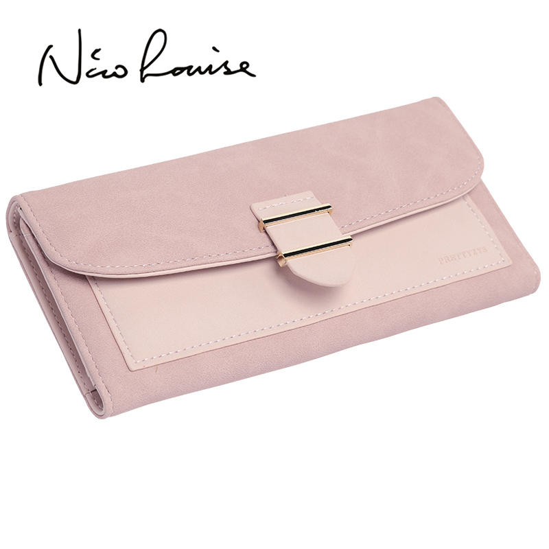 Fashion Ladies Leather Purse Long Wallet Famale Clutch Coin Purses Women Card Holders Phone Pocket For Girls Carteira Feminina