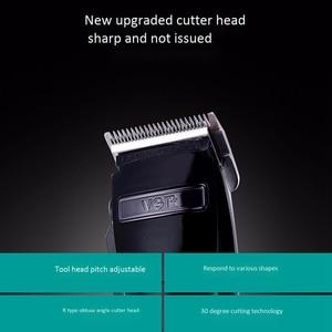 Image 5 - Vgr V 011 Electric Clipper Charging Shaver Hair Trimmer Hair Cutting Machine Eu Plug