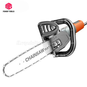 FGHGF Upgrade Chainsaw Changed Angle Grinder Bracket Into Electric Chain Saw Wood Cut Converter Power Tool Bracket Tree Felling