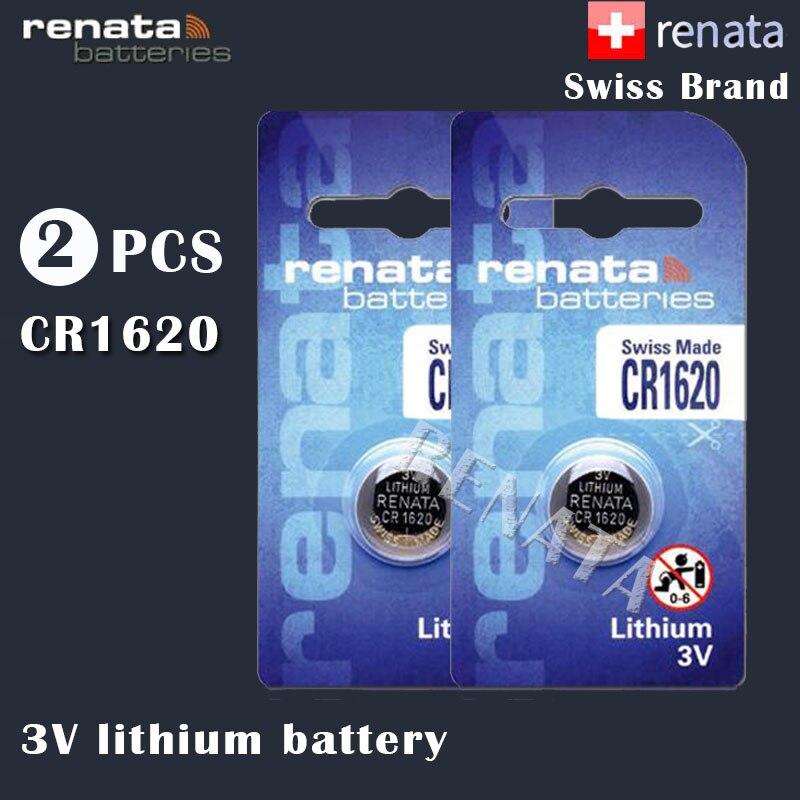 Paquete De 4 alto rendimiento de Litio Pila De Botón Batería CR2016 libre de mercurio
