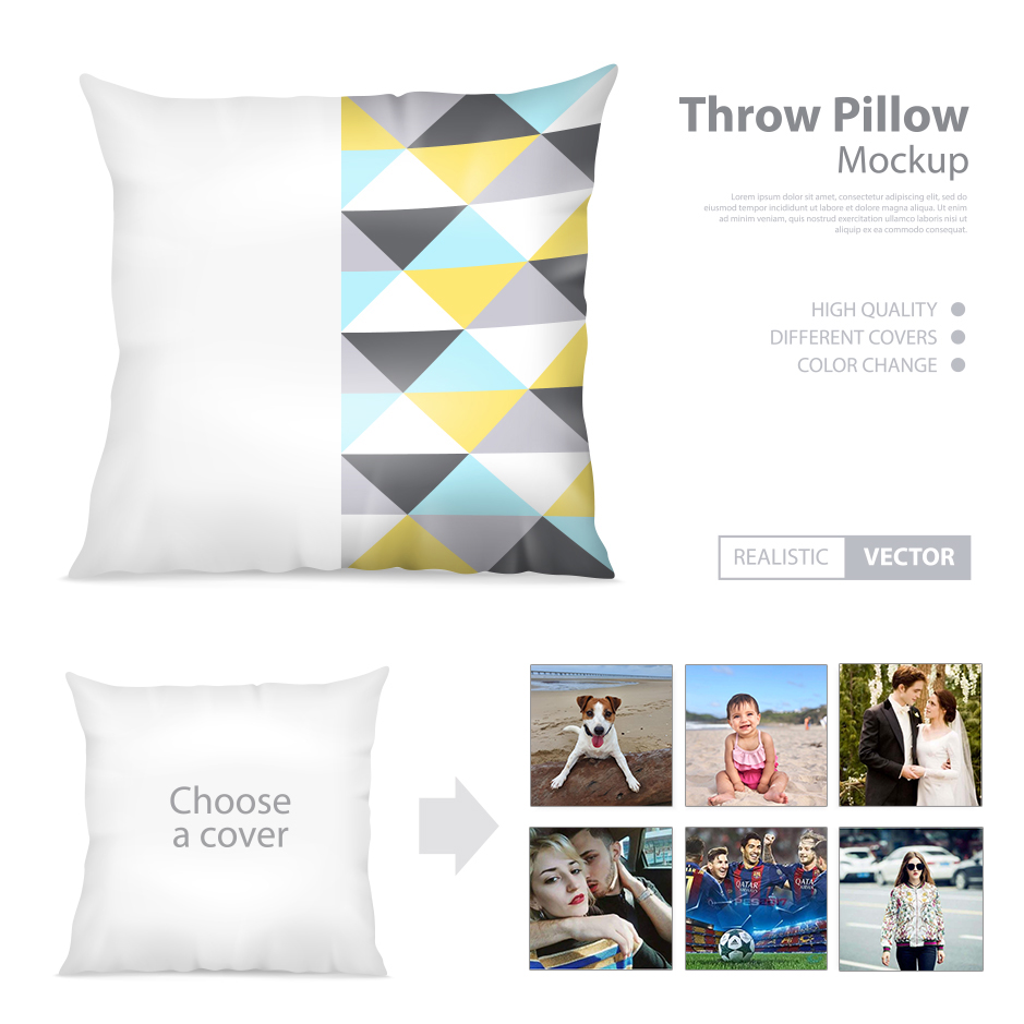 Customized Pattern Printed Cushion Cover Linen Cotton Private Throw Pillow Cover Home Decor Living Room Square Pillowcase
