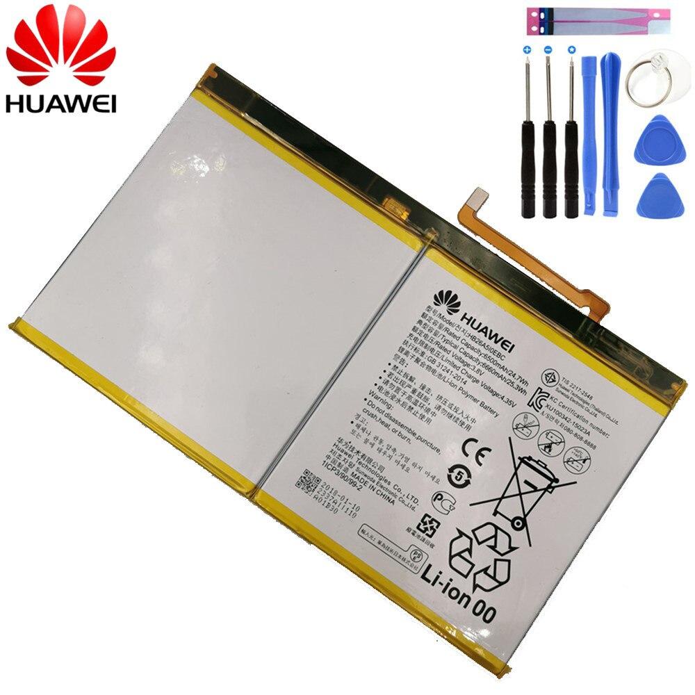 Huawei Original Replacement Battery HB26A5I0EBC For Huawei MediaPad M2 10.1 Flat Cell M2-A01W M2-A01L MediaPad M3 Lite 6660mAh