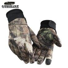 Камуфляжные рыболовные перчатки, охотничьи перчатки, противоскользящие, 2 пальца, вырезанные на открытом воздухе, для кемпинга, езды на велосипеде, половина пальцев, спортивные перчатки, камуфляж