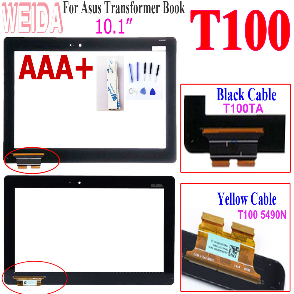 """10.1"""" For Asus T100 Touch Screen Digitizer Panel Replacement For Asus Transformer Book T100 T100TA 5490N B101XAN02.0 Touch"""