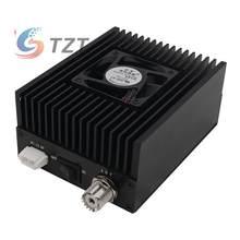 TZT Digital Amplificador De Potência de RF 400-470Mhz UHF 20W 30W 40W 50W 80W DMR Rádio FM Amplificador de Potência Amp