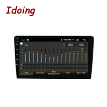 """Idoing 9 """"/10.2"""" 4G + 64G Head Unit Auto Android Radio Multimedia Speler Voor Universele auto Video Speler Ingebouwde Auto Play Geen 2 Din"""