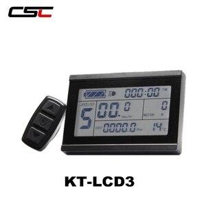Image 4 - Wyświetlacz roweru elektrycznego 36V 48V inteligentny Panel sterowania rowerowego KT LCD3 LCD8 LED880 ebike LCD