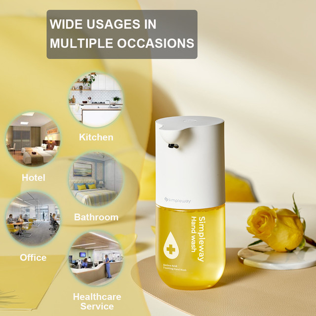 Intelligent Automatic Liquid Soap Dispenser Induction Foaming Hand Washing Device For Kitchen Bathroom Hand Washer Smart