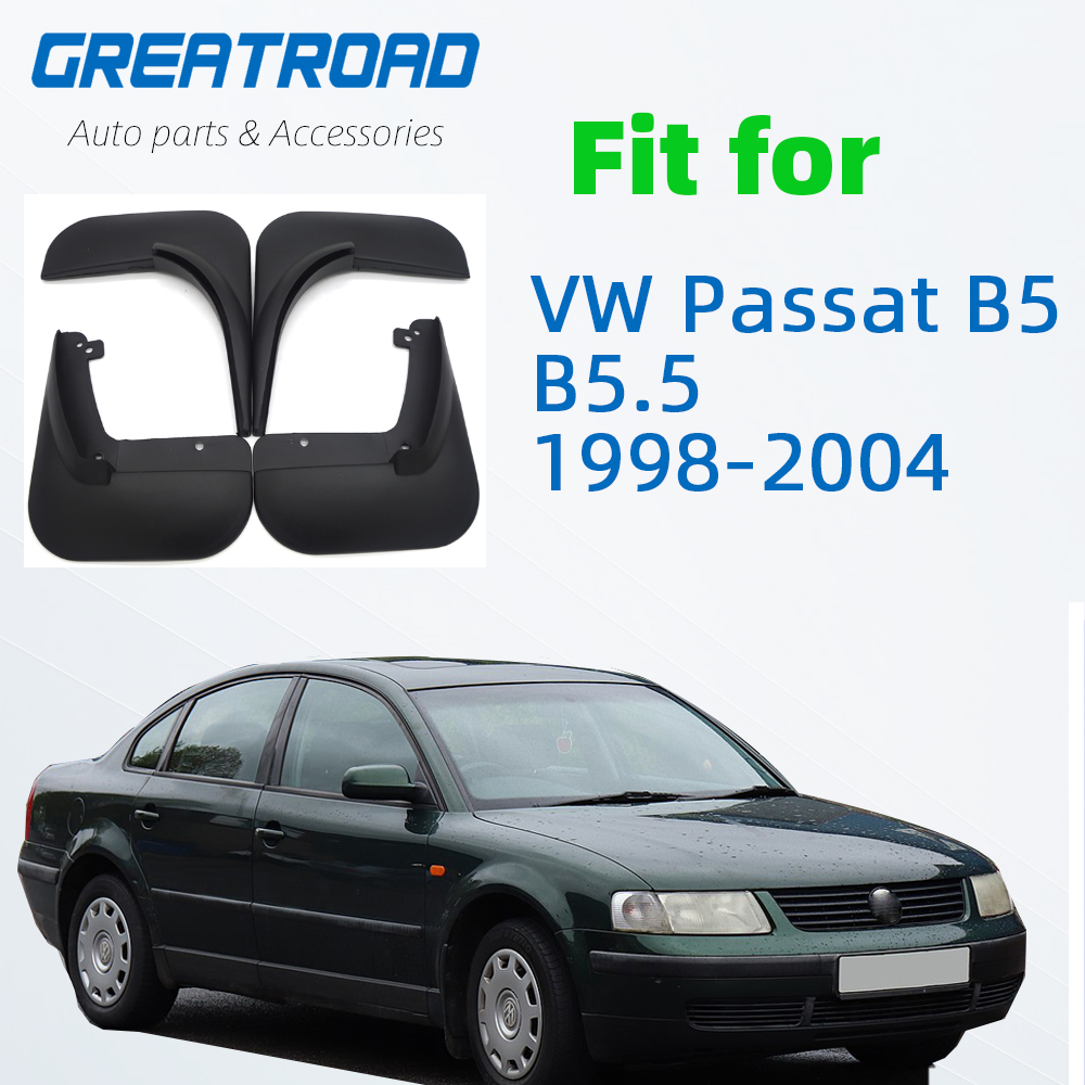 Комплект брызговиков для VW Passat B5/B5.5 1998-2004 Брызговики спереди и сзади брызговик крылья 2003 2002 2001 2000 1999