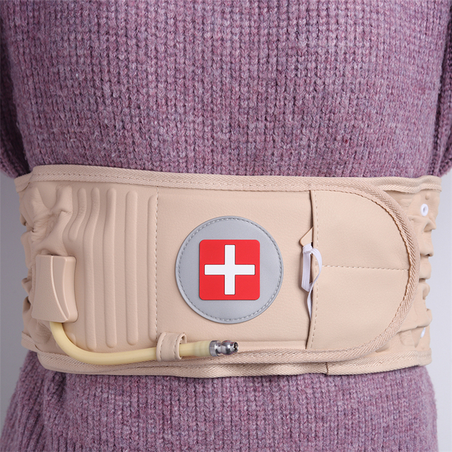 Physical Lumbar Decompression Back Belt Back Support & Lumbar Traction Belt Spinal Air Traction Belt for Lower Back Pain Relief 3