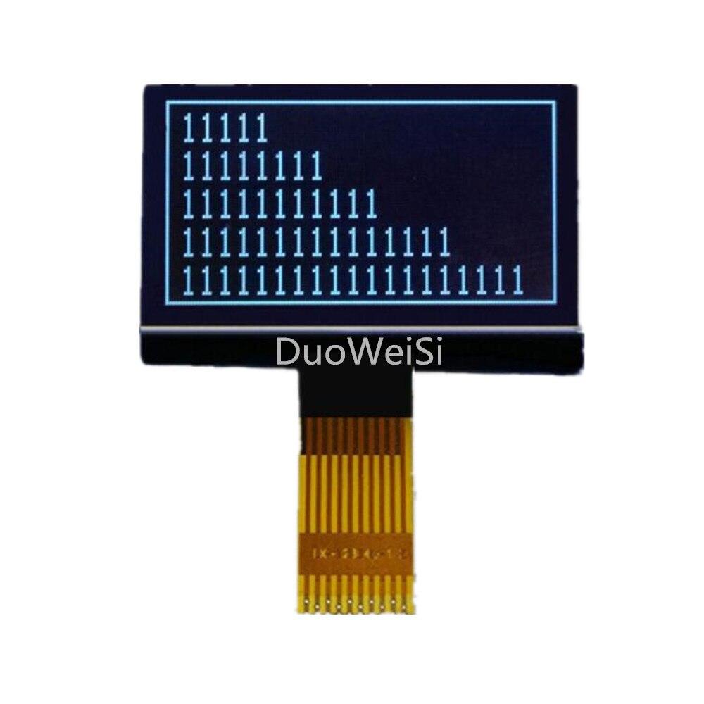 12864L-1 10pin 12864 LCD Dot Matrix LCD COG 3.3V Model Welded Type Backlight