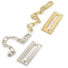 Chain Door Lock Security Safety Slide Bolt Door Chain Lock Guard Tone Cabinet Latch Anti-theft Door Hardware(China)