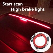 1pcs 12V 24V luci di stop a strisce LED per Auto luci posteriori universali indicatore di direzione indicatore di direzione luce di marcia accessori interni Auto