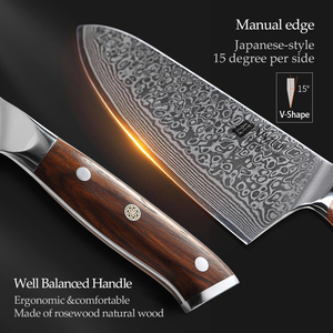 Image 4 - XINZUO 10 inch Chef Knife Japanese Damascus Steel Kitchen Knives Best Quality Professional Gyuto Knife For Hotel and Restaurant
