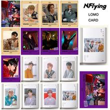 KPOP EXO NCTU WJSN Mamamoo NFlying IU STRAY KIDS Paper Lomo Card Photo Card Poster Photocard Fans Gift Collection Stationery Set(China)