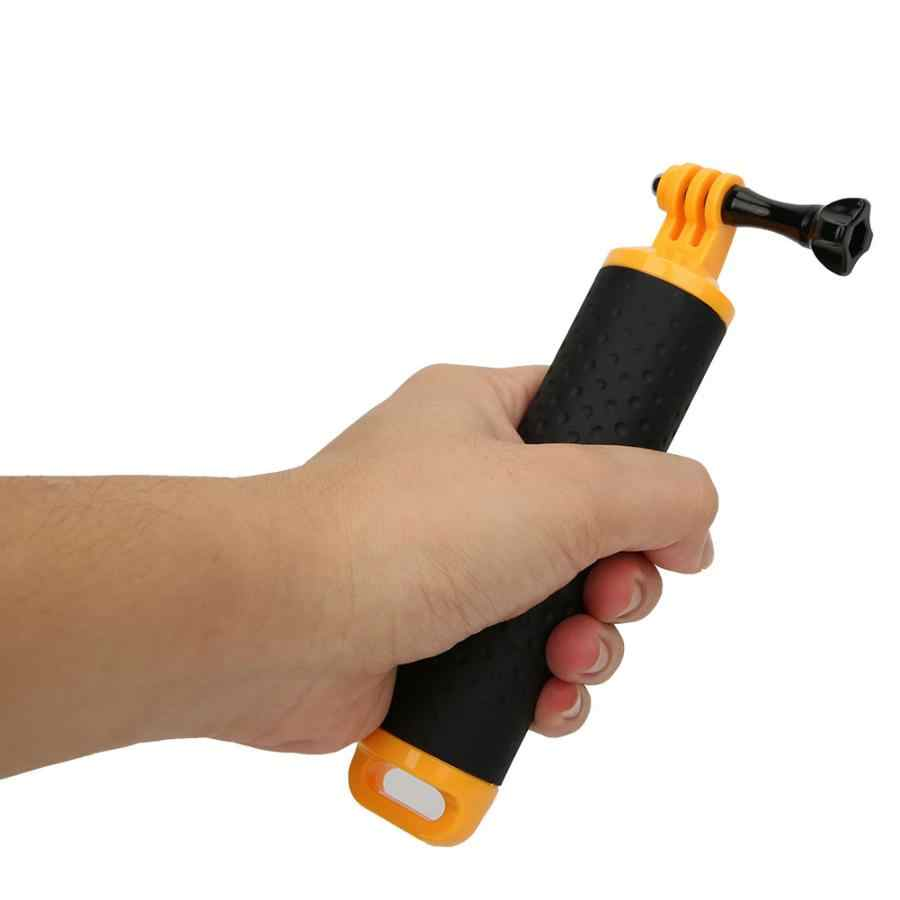 Waterproof Floating Hand Grip Handheld Portable Non-slip Handle with Hand Strap 1/4 screw Hole for GoPro Action Camera