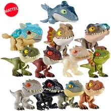 Originele Jurassic World Minifingers Dinosaurus Action Figure Beweegbare Gezamenlijke Simulatiemodel Speelgoed Voor Kinderen Halloween Figma Gift