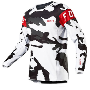 Image 2 - 2020 Mens Downhill Jerseys hpit fox Mountain Bike MTB Shirts Offroad DH Motorcycle Jersey Motocross Sportwear Clothing FXR bike