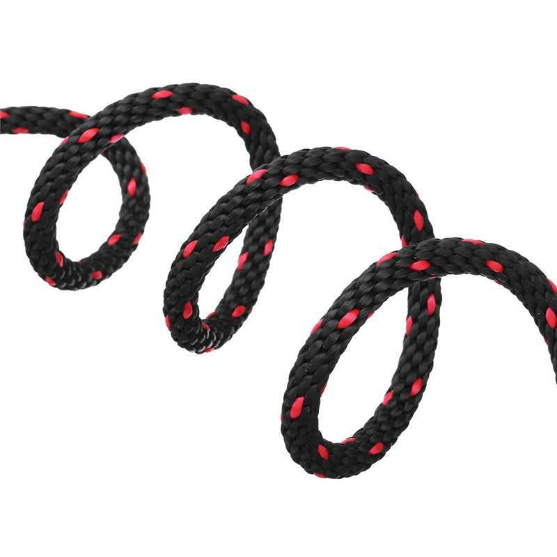 プーリーラチェットはカヤックやカヌーボート弓と船尾ロープロックタイダウンストラップ 1/8 インチヘビーデューティ調整可能なロープハンガー (2 個)