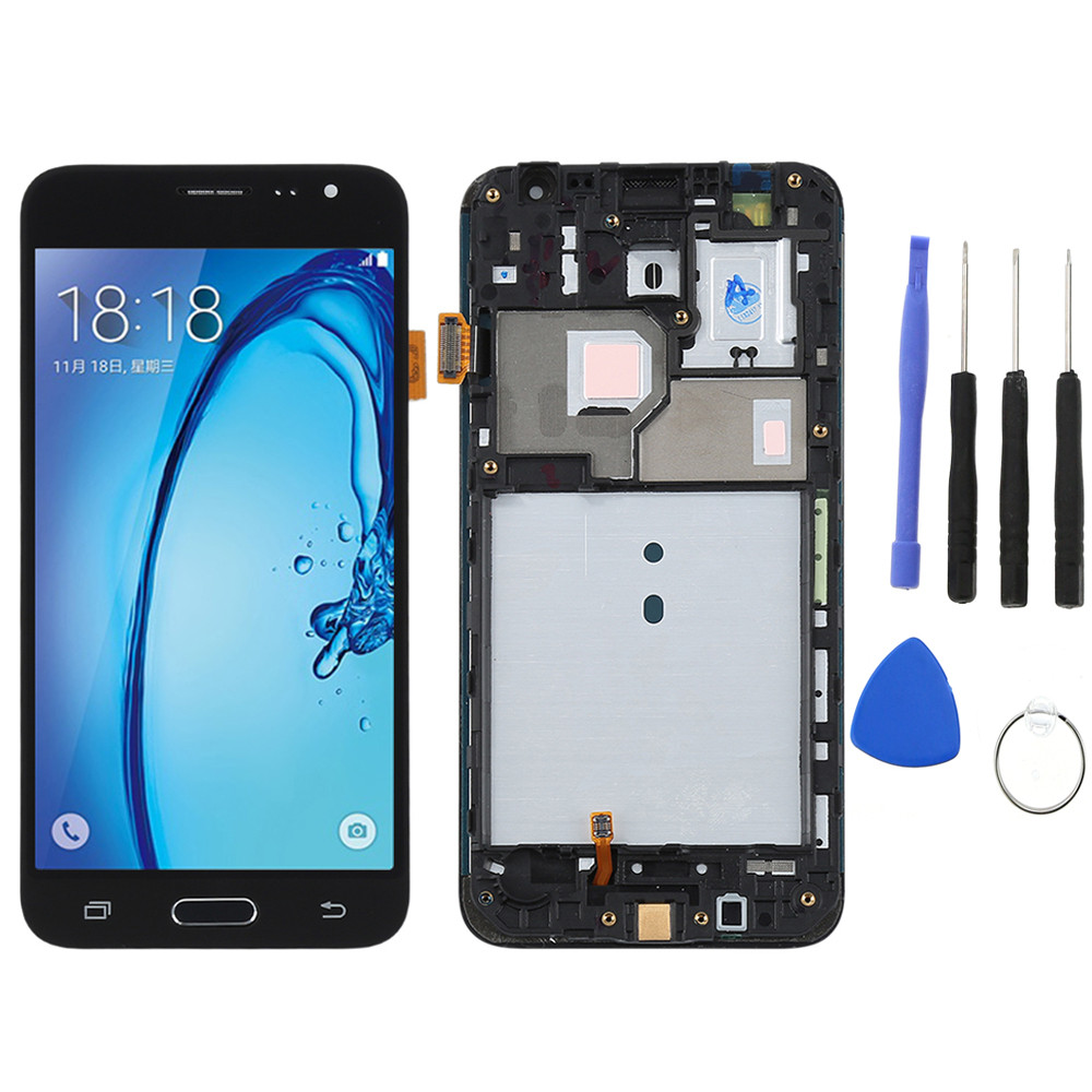 J320f lcd For SAMSUNG GALAXY J3 2016 LCD J320F J320FN J320M Display Digitizer Touch Screen With Frame for SAMSUNG J3 lcd j3 2016