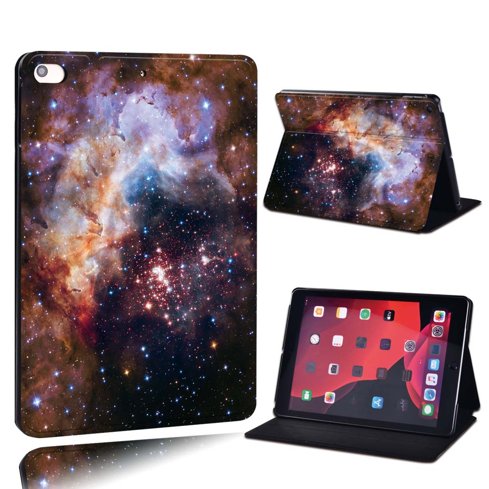 20.red brown orange Camel For Apple iPad 8 10 2 2020 8th 8 Generation A2428 A2429 PU Leather Tablet Stand