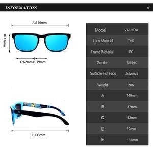 Image 3 - Viahda 2020 아주 새로운 극화 된 색안경 남자 차가운 여행 일요일 안경 상자를 가진 고품질 Eyewear Gafas