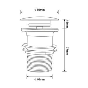 Image 5 - Ванна для ванной Smesiteli, непористый Слив для ванной комнаты, черного цвета, для отеля, с прочной кухонной пробкой