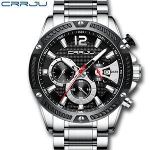 CRRJU Watch Men Fashion Sport