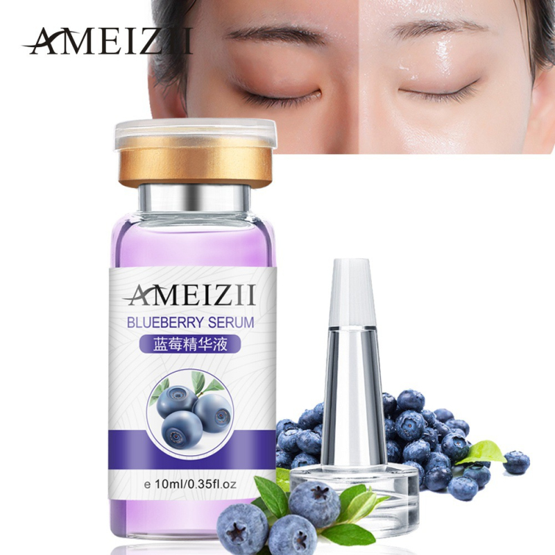 Blueberry Essence Lasting Moisturizing Facial Serum Pure Hyaluronic Acid Whitening Repair Firming Face Skin Serum Women TSLM1