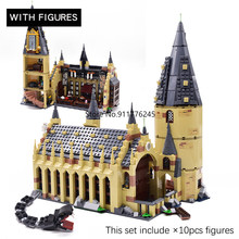 Classic Movie Castle Express Train Building Blocks House Bricks City Creator Anime Action Figures toys For Children gifts