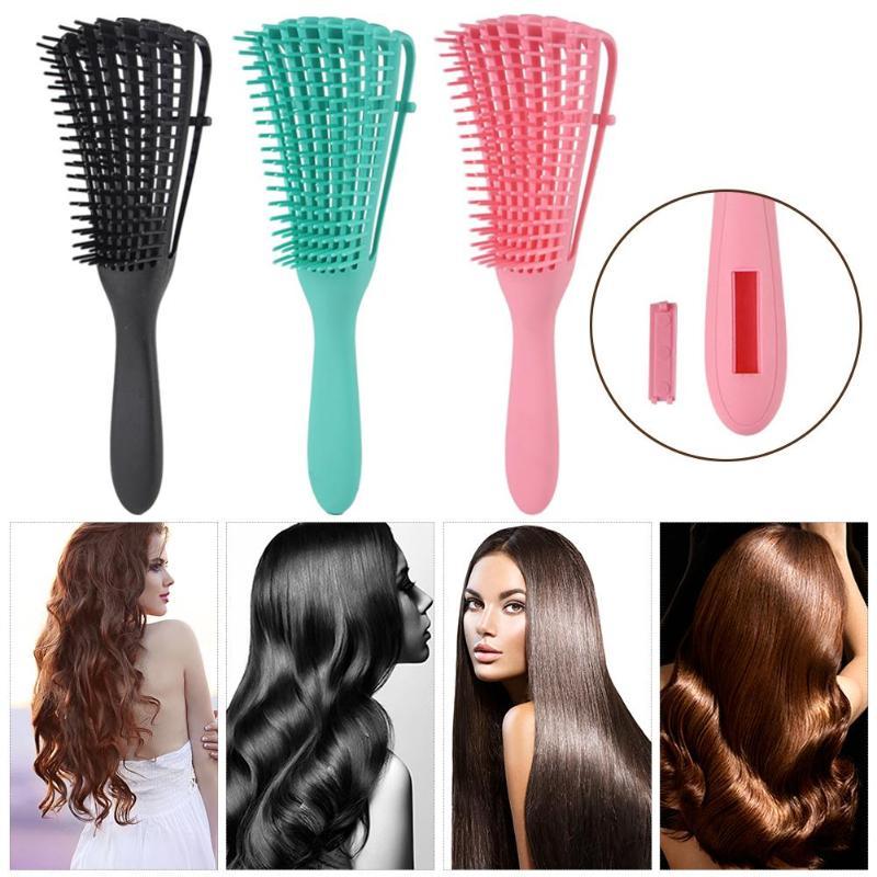 Hair Scalp Massage Comb Wet Curly Women Hairbrush Portable Salon Hairdressing Styling Hairbrush
