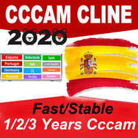 2020 egygold CCcam Cline for 1/2 Year 7 line Europe Satellite TV Receiver Ccam Italy germany oscam mgcam clines GTmedia V8 Nova