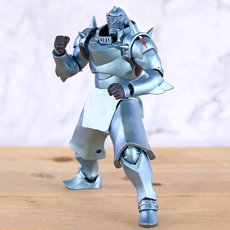 Full Metal Alchemist Alphonse Elric Revoltech Yamaguchi  Action Figure Collectible Model Toy