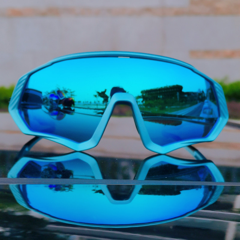 Image 4 - 2019 Polarized 5 Lens Cycling Glasses Road Bike Cycling Eyewear Cycling Sunglasses MTB Mountain Bicycle Cycling Goggles UV400Cycling Eyewear   -
