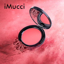 IMucci Face Powder Makeup Blush Fabulous Genuine 6Colors Blush Soymilk Matte Pearl Rouge Blush High Quality MakeUp Face Blusher rimmel maxi blush powder blush