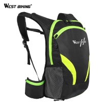 цена WEST BIKING Bicycle Backpack For MTB Mountain Road Bike Bag Cycling Bicycle Bike Outdoor Breathable Backpack Cycling Accessories онлайн в 2017 году