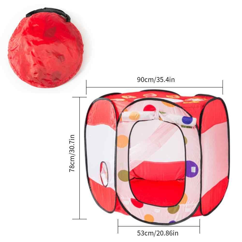 Pet Playpen Pagar Tenda Anjing Ruang Besar Kucing Anjing Peliharaan Foldable Nest Game Ruang Mainan Outdoor Indoor Tersedia Kandang Anjing pengiriman Cepat