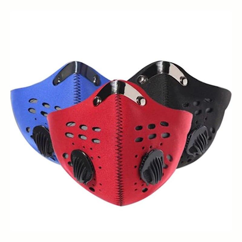 Respirator N95 Filter Voor Vervuiling Pollen Allergie Houtbewerking Running Wasbaar Neopreen Mask Masker N95 Mask