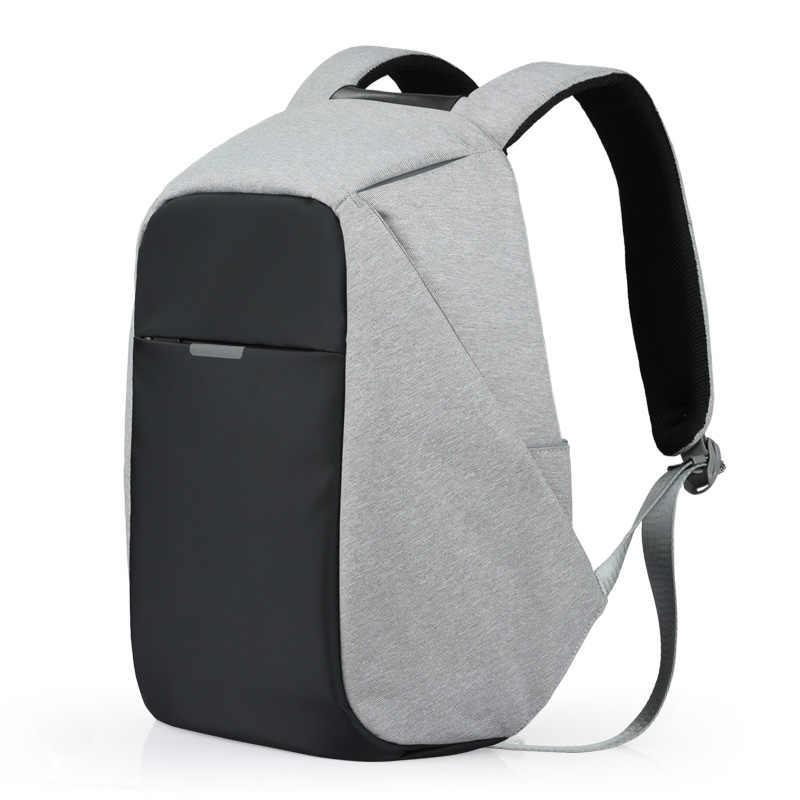 Mixi Ba Lô Unisex Nam Nữ Học Dành Tất 15.6 Ba Lô Laptop USB Sạc Xu Hướng Thời Trang 17 18 Inch m5510