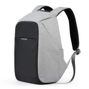 Mixi Unisex Backpack Men Women School Bag Boys Girls Satchel 15.6 Laptop Backpack USB Charge 2019 Trend Fashion 17 18 Inch M5510(China)