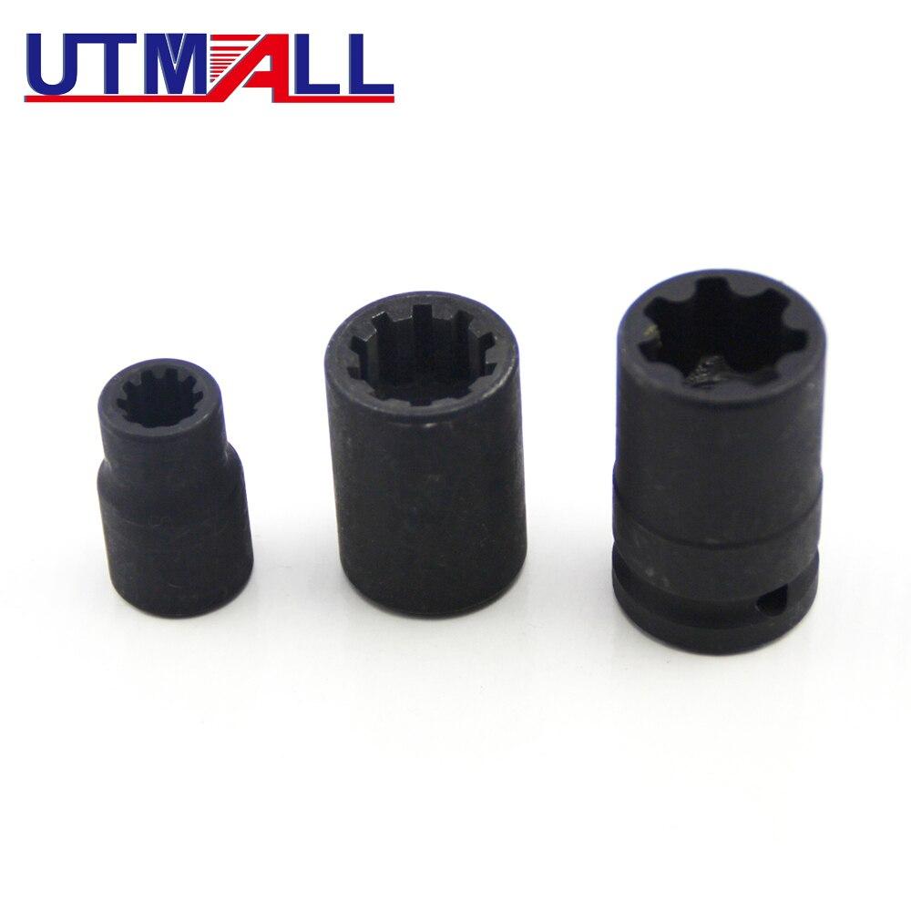 Caliper Brake Pad Screw Socket 10 pt points 10pt For Porsche Cayenne//Audi 19mm