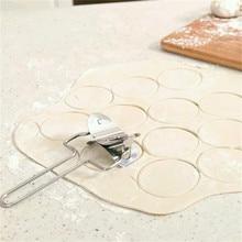 Gadgets Kitchen Diameter-7cm Skin-Mould Dumpling Practical Stainless-Steel Creative Simple