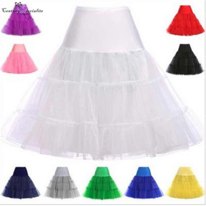 Short Petticoat Crinoline Vintage Wedding Bridal Petticoat For Wedding Dresses Prom Gowns Underskirt Rockabilly Tutu