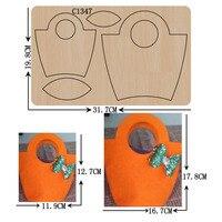Новая Цветочная корзина деревянная высечка для скрапбукинга C-1347 разного размера